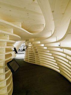Lignum Pavilion by Frei + Saarinen Architects #FJRP