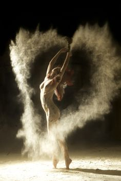 Air Elemental (not his title, my interpretation). From photographer Ludovic Florent's series titled Poussiére D'étoiles.