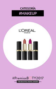 ¿Qué productos se hará con el premio BOTY de Maquillaje? Estos son los nominados... ¡Participa! #PREMIOSBOTY2017 - MAKE-UP