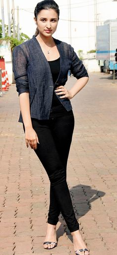 Parineeti Chopra at a cleanliness event in Mumbai.