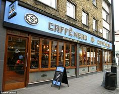 Success: The most expensive of the chains, Caffe Nero, topped both categories