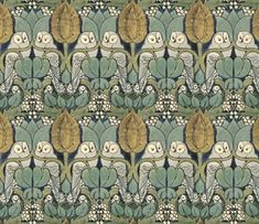 more owl wall paper.