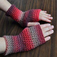 Everyday Fingerless Gloves - Free Pattern