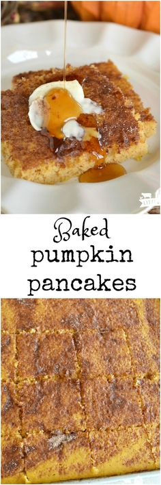 Chocolate chip pancakes, Pumpkin chocolate chips and Fall breakfast on ...
