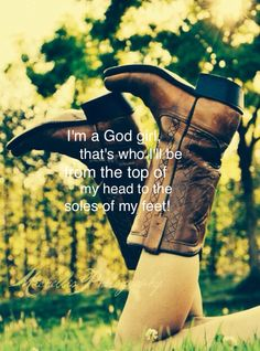 God girl by jamie grace! im a god country girl too:)