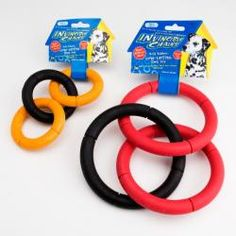 This is a great toy for the dog park!  We take these often and sometimes 3-4 dogs will play a good game of tug.  These have been extremely durable, and we highly recommend them for dogs that love to tug.  Addie gives them two paws up!  @Two Bostons