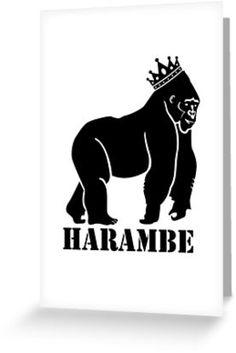 R.I.P harambe