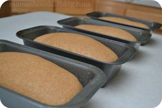 Whole Wheat Bread recipe and very helpful tutorial (makes multiple loaves!)