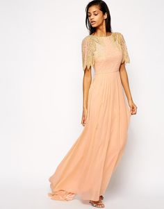 Virgos Lounge   Virgos Lounge Lena Maxi Dress With Embellishment at ASOS