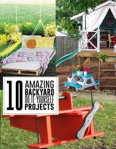 10 amazing backyard do-it-yourself projects you'll adore - Andrea's Notebook