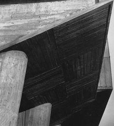 Lucien Hervé Unité d'Habitation, Marseille, Le Corbusier, architect, 6 x 6 negative. Architecture Images, Amazing Architecture, Architecture Details, Le Corbusier, Chandigarh, Cap Martin, Lucien, Building Images, Architectural Photographers