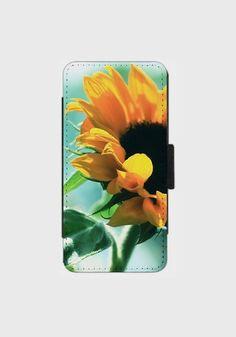 Sunflower Smartphone Flip Case Handyhülle für von SYoungPhotography