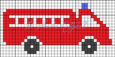 Ida Amalies Hobbykrok – About Life Pixel Crochet Blanket, Tapestry Crochet, Crochet Chart, Filet Crochet, Knitting Charts, Baby Knitting Patterns, Crochet Patterns, Cross Stitch For Kids, Cross Stitch Baby
