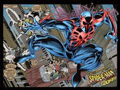 Manaós Sa Ltda: Homem-Aranha 2099 volta a ter revista mensal!!!