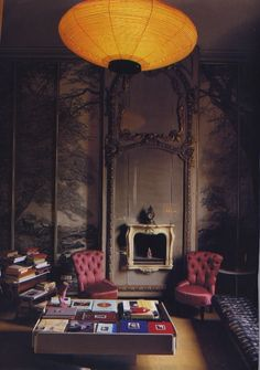 These incredibly beautiful interiors are Casa Molino, the late great designer/racing enthusiast Carlo Molino's secret abode, now a museum.