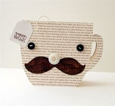 Card template (Paper Smooches) - so cute for all my coffee friends! Cute Cards, Diy Cards, Coffee Cards, Paper Smooches, Shaped Cards, Fathers Day Crafts, Masculine Cards, Creative Cards, Greeting Cards Handmade