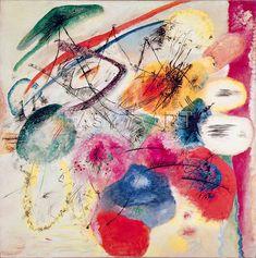 Wassily Kandinsky, Lignes noires, 1913
