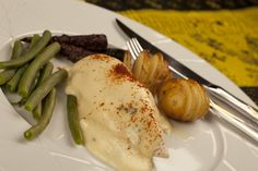 Chicken Breasts with Tarragon and Mustard Cream Sauce.  http://cindyduffield-cookingthebooks.co.uk/chicken-breasts-…tard-cream-sauce/