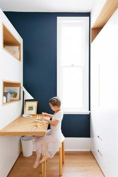 Kids' room makeover: share space with storage. Photography by Simon Whitbread. From the January 2017 issue of Inside Out Magazine. Available from newsagents, Zinio, https://au.zinio.com/magazine/Inside-Out-/pr-500646627/cat-cat1680012#/, Google Play, https://play.google.com/store/newsstand/details/Inside_Out?id=CAowu8qZAQ, Apple's Newsstand,https://play.google.com/store/newsstand/details/Inside_Out?id=CAowu8qZAQ, and Nook.