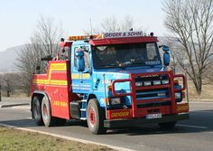 Scania LT143 - TOW TRUCK