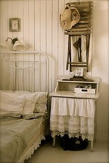 #shabby chic guest room