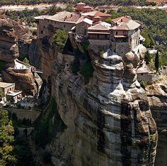 Mosteiros de Metéora - Grécia ~ Você realmente sabia?