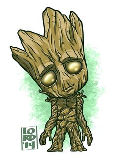 I am #Groot!! One day closer to August! #GuardiansOfTheGalaxy #VinDiesel!!
