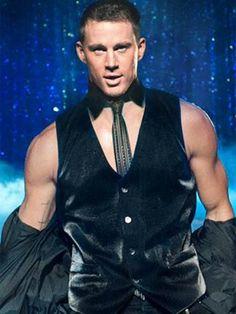 ¡Nos encantó Channing Tatum en 'Magic Mike'! El sensual baile de este bellísimo ejemplar fue una de nuestras escenas favoritas de todo 2012, ¡lo queremos en nuestra despedida de soltera!