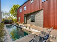 Experience Modern Living in the Highly Coveted Urban Reserve - D Magazine Maple Wood Flooring, Concrete Floors, Modern Living, Home And Living, Open Layout, Large Windows, Minimalist Home, Real Estate, Urban
