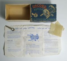 A.B.Urfabriken Svangsta Record Rullen Fishing Cast Reel 1600 ORIGINAL BOX  | eBay