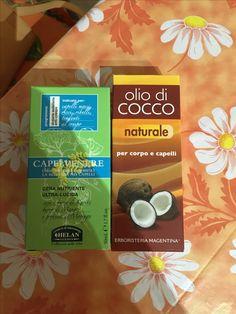 Prodotti Naturali per Capelli : Olio di cocco viso e corpo  Cera modellante Ricci #Erbolario