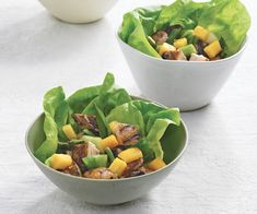 Island-Spiced Chicken Salad with Mango and Scallions