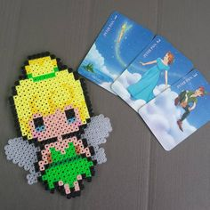Tinker Bell perler beads by lily_pixie03