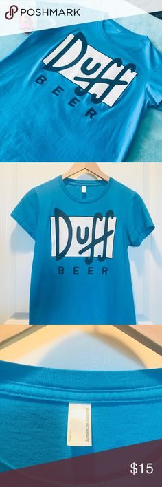 ff9d17a1002c Duff Beer Graphic Tee Printed on American Apparel! Super soft