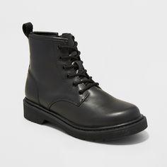 Boys' Conrad Combat Boots - Art Class Black 5
