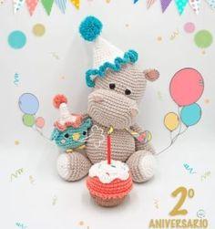 Mesmerizing Crochet an Amigurumi Rabbit Ideas. Lovely Crochet an Amigurumi Rabbit Ideas. Crochet Hippo, Cute Crochet, Crochet Animals, Crochet Patterns Amigurumi, Amigurumi Doll, Crochet Dolls, Knitting Patterns, Stuffed Toys Patterns, Handmade Toys