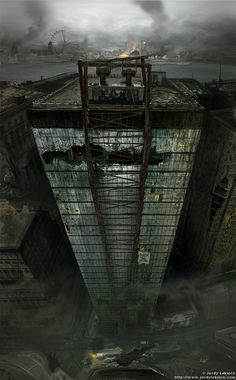 Post Apocalypse London by JordyLakiere.deviantart.com on @deviantART