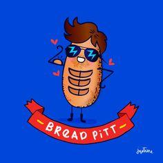 Bread Pitt | Justine Morrison