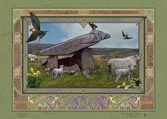 KILCLOONEY DOLMEN > Irish Sites: by Jeff Fitzpatrick Adams @ Irish Celtic Illuminations > http://www.irishcelticilluminations.com/ > http://www.facebook.com/IrishCelticIlluminations