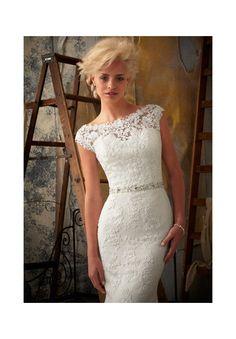 Wedding Dress  1901 Venice Lace Appliques on Net