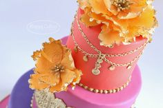 Moroccan Themed (Baby Shower) Cake — Baby Shower