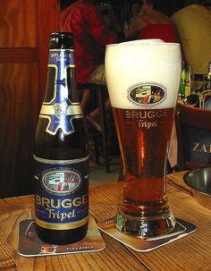 Brugge tripel, 8.7% 8/10 brouwerij de meeting gouden boom, Brugge Belgium
