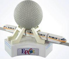 Walt Disney World Parks Spaceship Earth Epcot Monorail Play Set Playset New Box #DisneyWorld #Epcot #Monorail