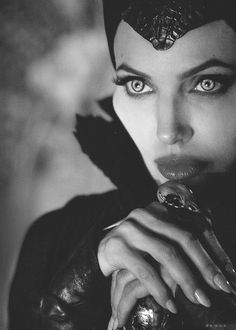 Angelina Jolie - such a great job as Maleficent