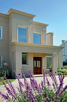 dream home design Classic House Exterior, Classic House Design, Dream House Exterior, Dream House Plans, Modern House Plans, Facade Design, Exterior Design, Architecture Design, Exterior Colors