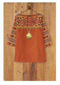 38 Ideas Sewing Clothes Women Dresses Tunic Tops For 2019 Batik Blazer, Blouse Batik, Batik Dress, Sewing Clothes Women, Dress Clothes For Women, Batik Kebaya, Sewing Blouses, Batik Fashion, Tunic Pattern