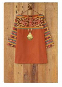 38 Ideas Sewing Clothes Women Dresses Tunic Tops For 2019 Batik Blazer, Blouse Batik, Batik Dress, Sewing Clothes Women, Dress Clothes For Women, Batik Fashion, Boho Fashion, Batik Kebaya, Sewing Blouses