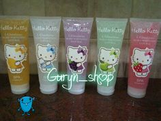 Exfoliating Gel Spa Hello Kitty
