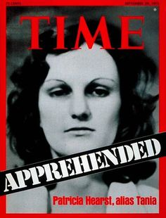 Patty Hearst | Sep. 29, 1975: Heiress Patty Hearst kidnapped and brainwashed by cult...