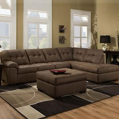 Broyhill Furniture On Pinterest Brown Sectional